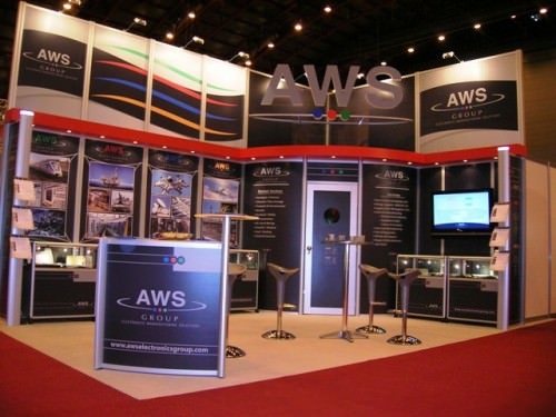 AWS Group modular exhibition stand