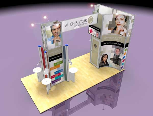 Exhibition Stand Trends 2018 : Four trade show design trends that shaped apex