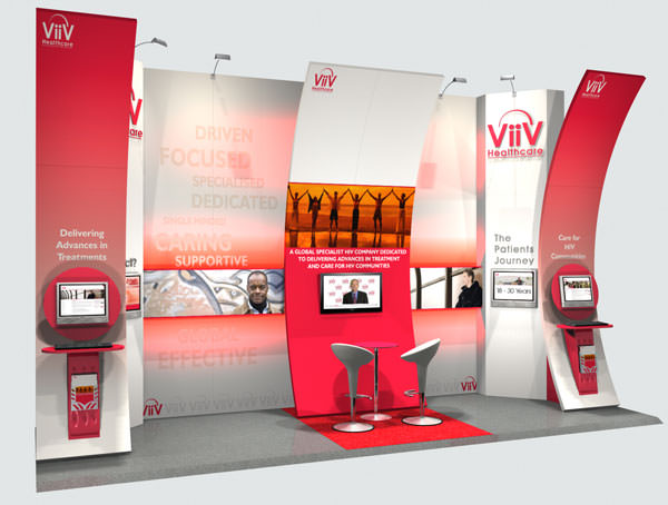 Fabric Exhibition Stand Yet : Viiv fabric exhibition stand apex event management and