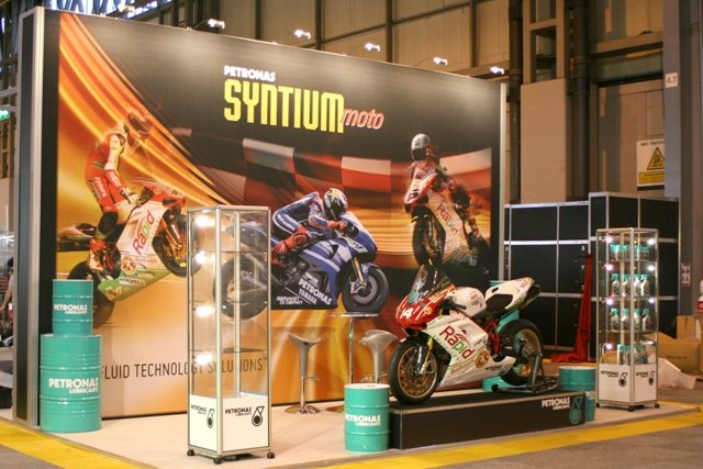 Fabric Exhibition Stand Builders : Modular stand at motorcycle live