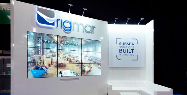 Custom exhibition stand for Rigmar