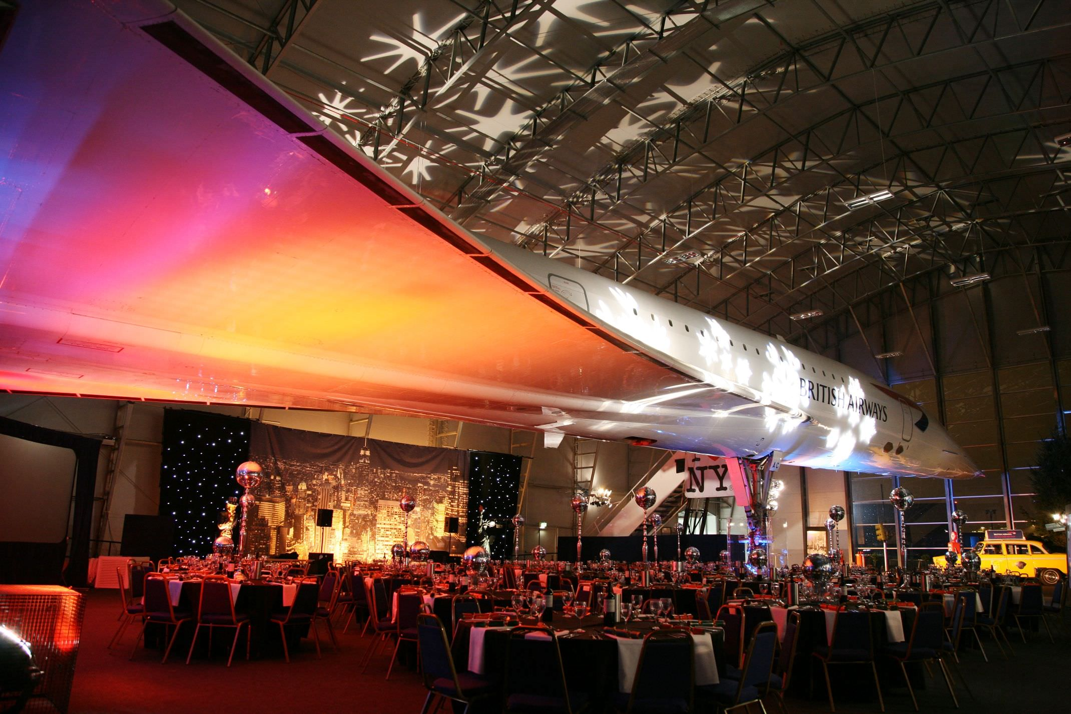 corporate event organisers - Concorde Christmas