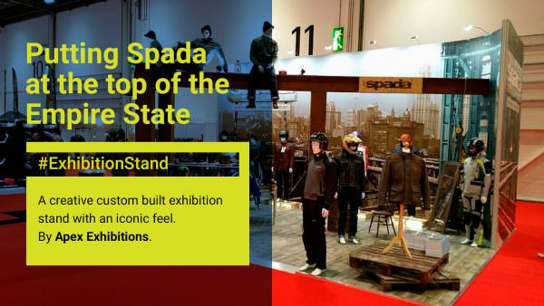 Bespoke Exhibition Stand for Spada