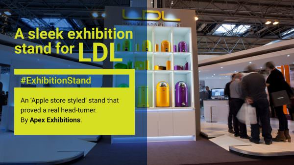 LDL Custom Exhibition Stand Design